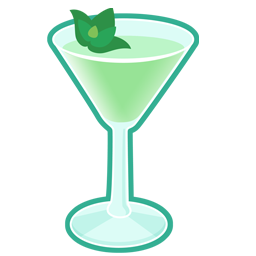 Cocktail, Grasshopper Icon