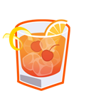 Cocktail, Fashioned, Old Icon