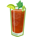 Bloody, Cocktail, Mary Icon
