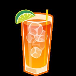 Cocktail, Iced, Island, Long, Tea Icon