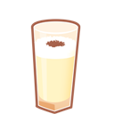 Brandy, Cocktail, Eggnog Icon