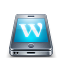 Mobile, Wordpress Icon