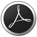 Acrobat, Adobe, Metroid Icon