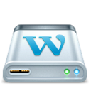 Hosting, Wordpress Icon