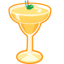 Banana, Cocktail, Daiquiri Icon