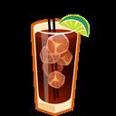 Cocktail, Cuba, Libre Icon