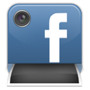 Big, Fb, Lens, Photo Icon