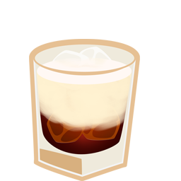 Cocktail, Russian, White Icon