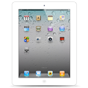 Ipad, Scratch, White Icon