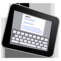 Ipad, Write Icon