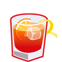 Americano, Cocktail Icon