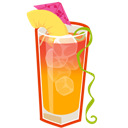 Cocktail, Mai, Tai Icon