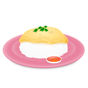 Omelet+Rice, Png Icon