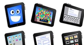 Comic iPad Icons