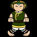 Aang, Earth, Kingdom Icon