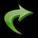 Fleche, Raccourci Icon