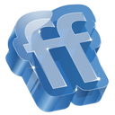 3d, Friendfeed Icon
