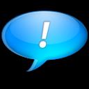 Bleu, Chat Icon