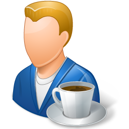 Coffeebreak Light Male Person Icon Download Free Icons