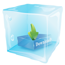 Download, Ice Icon