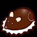 Chocolat, En, Souris Icon