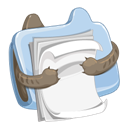 Doccument, Folder, Funny Icon