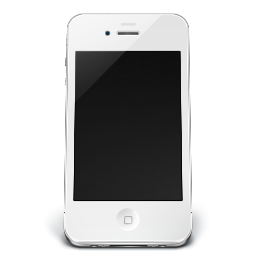 Iphone, Off, White Icon