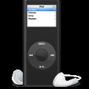 Ipod, Nano, Noir Icon