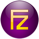 Filezilla, Violet Icon