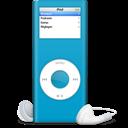 Bleu, Ipod, Nano Icon