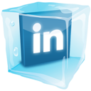 Ice, Linkedin Icon