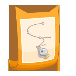 Ai, Drawing Icon