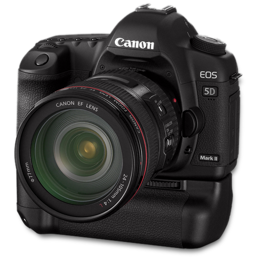 5d, Bg, Canon, Side Icon