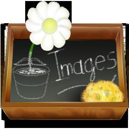 Ardoise, Dossier, Images Icon