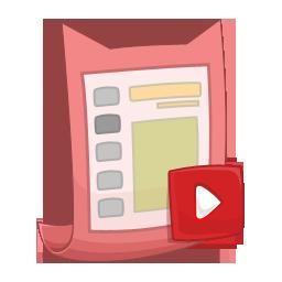 Ppt, Presentation Icon