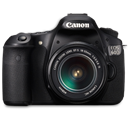 Canon, d, Front Icon