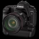 5d, Bg, Canon, Side Icon