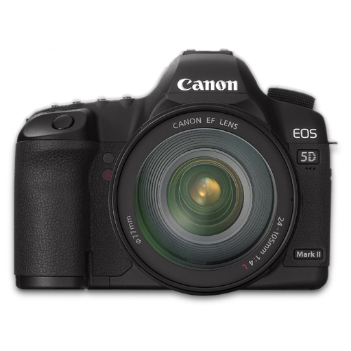 5d, Canon, Front Icon