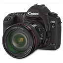 5d, Canon, Side Icon
