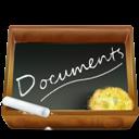 Ardoise, Documents, Dossier Icon