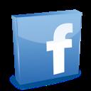 3d, Facebook Icon