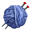 Knitting, Needles Icon