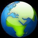 Globe, Terrestre Icon