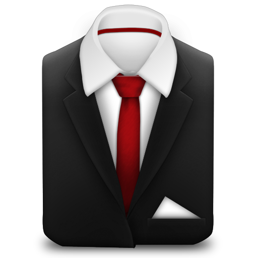 Red, Suit, Tie Icon , Download Free Icons