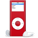 Ipod, Nano, Rouge, Sida Icon