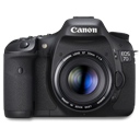 7d, Canon, Front Icon