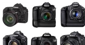 Canon DSLR Icons