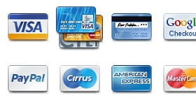 Pixel Perfect Credit Cards Icons
