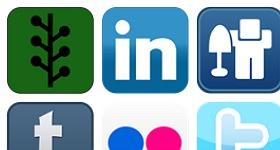 Shiny Social Icons