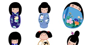 Kokeshi 2 Icons